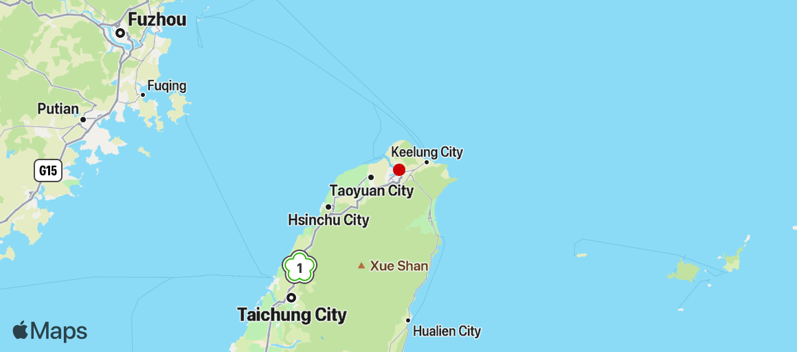 Map of photo area